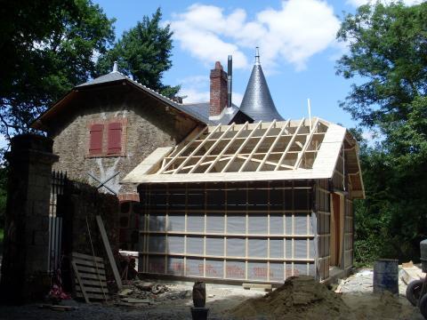 Extension bois en Vendée