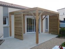 Pergola bois en Vendée et Loire Altantique
